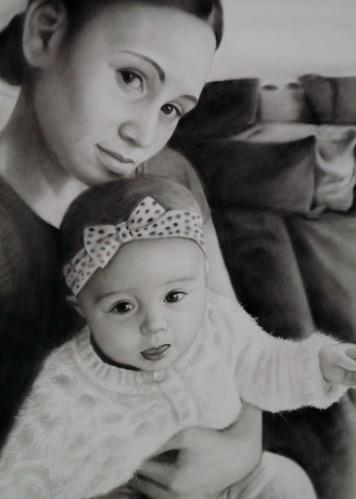 Baby portrettekining