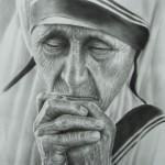 Portret laten tekenenen van overleden persoon