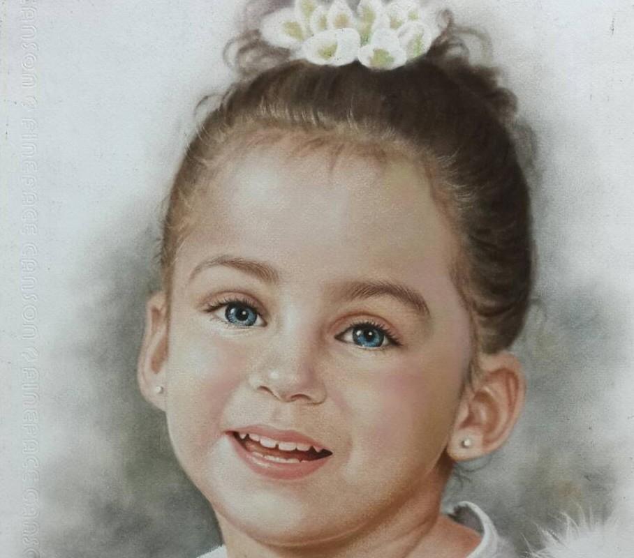 pastel portret laten maken