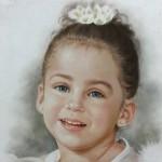pastel portret laten tekenen