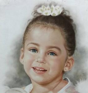Pastel portret